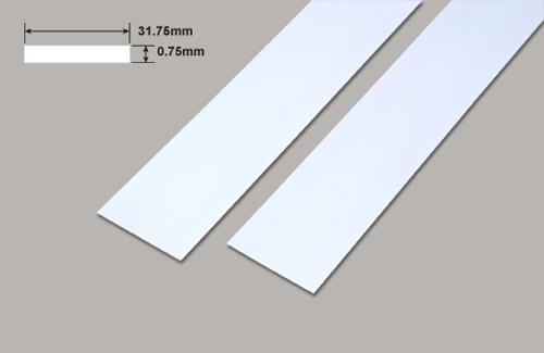 Platten - 31.75 x 0.75 x 610mm Plastruct