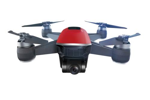 Walkera Peri Quadrocopter RTF Misano Red - FPV-Drohne mit 4K UHD-Kamera, GPS, Optical Positioning, Fernsteuerung, Akku und Ladegerät Walkera 15002350