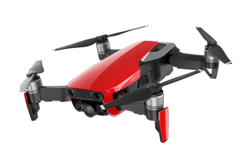 DJI Mavic Air Quadrocopter Fly More Combo Flame Red DJI 15050110