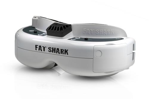 Fatshark Dominator HD3 FPV-Headset Videobrille mit Akku Fatshark 17000330
