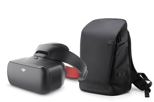 DJI Goggles Racing-Edition FPV-Videobrille + DJI Goggles Carry More Backpack DJI 17001160