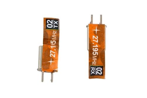 Quarzpaar Kanal 2 (27.195 MHz) XciteRC 35501009