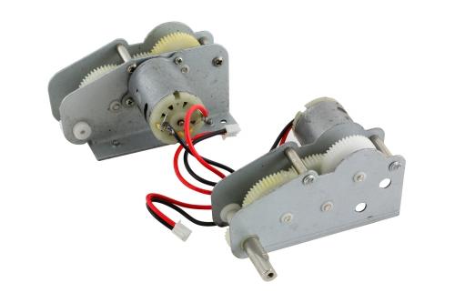 Motor-Getriebeeinheit (Kunststoffzahnräder) DAK Pz.Kpfw. IV F-1 M1:16 XciteRC 35510004