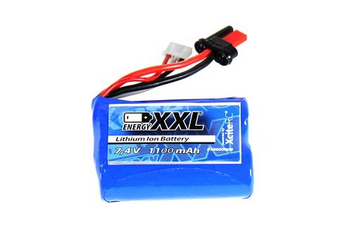 LiIo Akku 7,4V 1100 mAh X-Tide micro energyXXL 56400004