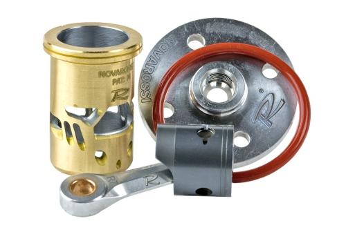 NOVAROSSI Laufgarnitur + Pleuel + Brennraumeinsatz FLASH-.21 PT/A/FLASH RALLY.21 PT/A Novarossi 72309031