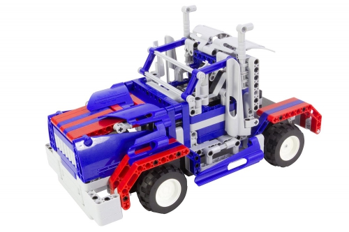 Teknotoys Active Bricks RC 2in1 Truck & Sportwagen blau mit Fernsteuerung Teknotoys 85000014