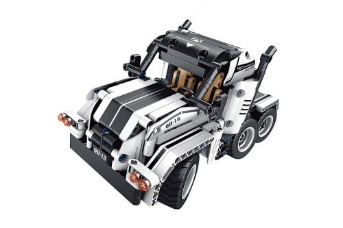 Teknotoys Active Bricks RC 2in1 Trucks mit Fernsteuerung weiß Teknotoys 85000027