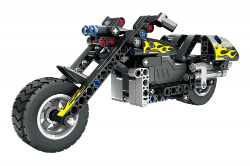Teknotoys Active Bricks Pullback Motorrad Teknotoys 85000060