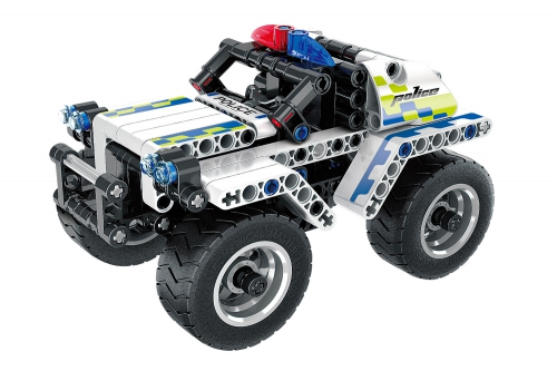 Teknotoys Active Bricks Pullback Polizeiauto Teknotoys 85000064