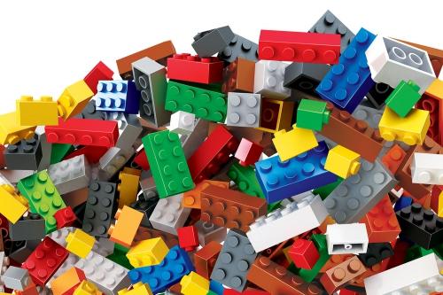 Teknotoys Blocks Bausteine-Set mit 990 Teilen Teknotoys 85000102