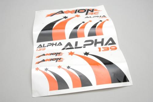 Dekor Set (Orge-Schw.)Alpha 139 BL 3 AXRC Z-AX-00215-120