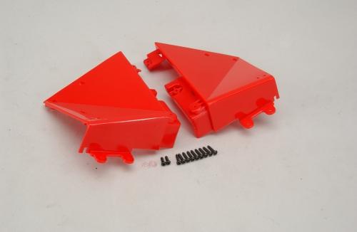 LM Seitenteile Set hinten - Rot Hirobo Z-H0402-349