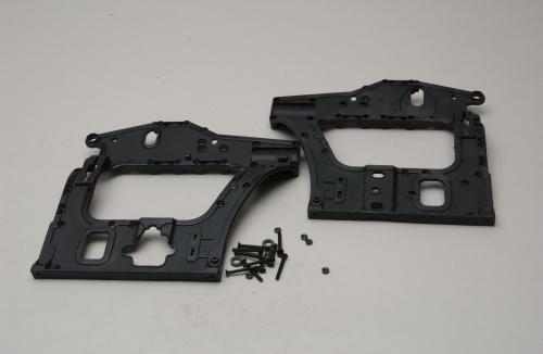 SF Chassis Seitenplatten Set Hirobo Z-H0402-513
