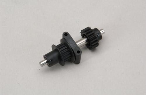 Umlenk Getriebe Pulley Set 18 Zähne Hirobo Z-H0414-400