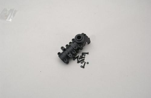 ELS05 Heckgetriebe Gehäuse R/L Hirobo Z-H0414-401