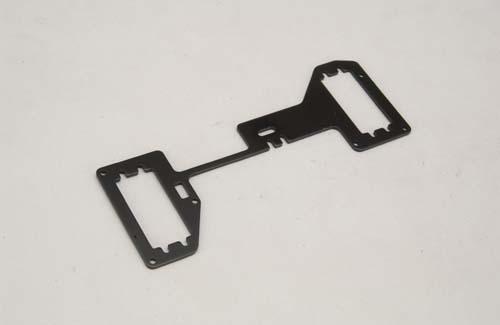 RC Platte (2mm/6061/Schwarz) XLB XTM