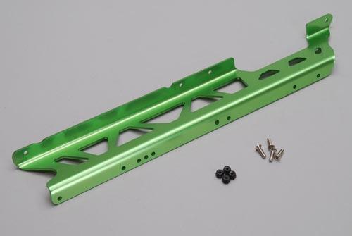 Seitenschutz-links (Grün Alu) - Rail XTM