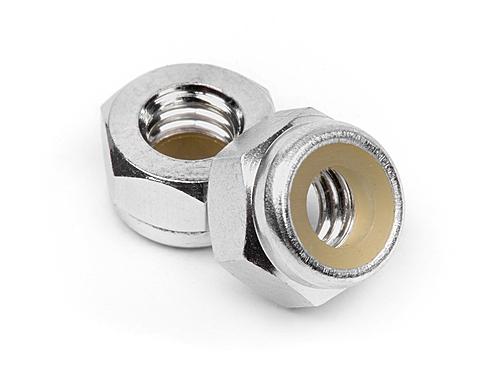 Aluminium Stoppmutter M4 Silber (10St) HPI Z866