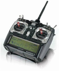 Aurora 9 2,4 GHz mit Optima 9 deutsche Menüführung Hitec 110162
