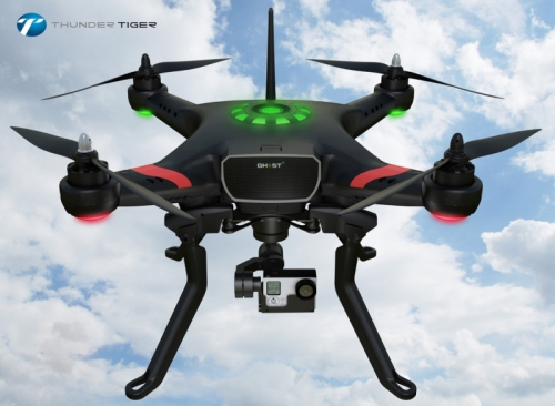 Thunder Tiger GHOST+ Quadrocopter RTF inkl. 3D Gimbal GoPro Thunder Tiger 4030-F12