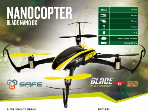 Blade Nano QX RTF M1 Horizon BLH7600CM1
