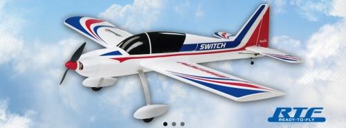 Switch (RTF) 3D und Trainer Hobbico FLZA3300