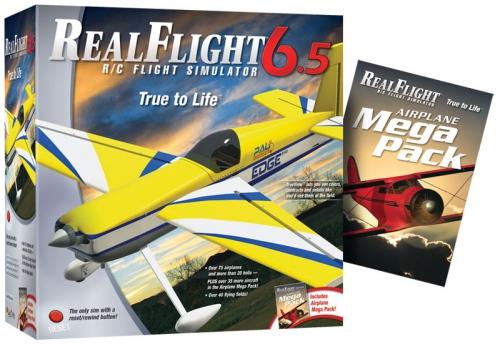 RealFlight 6.5 Flugzeug Edition Mode 2/4 Hobbico GPMZ4490