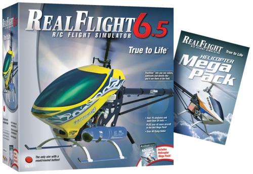RealFlight 6.5 Heli Edition Mode 2/4 Hobbico GPMZ4492