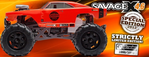 Savage X 4.6 Special Edition RTR 2.4GHz hpi racing H101736