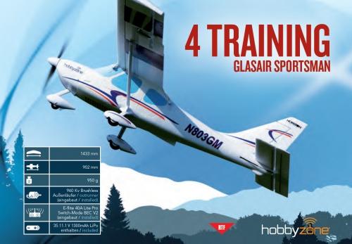 Hobbyzone Glasair Sportsman RTF Mode 1 Horizon HBZ7600M1