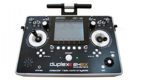 Jeti Pult Sender DC-16 2.4GHz Duplex 2.4ex Mode 2/4
