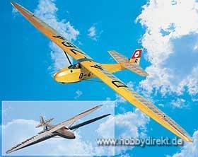 Grunau Baby 1:4 ARC-Modell Krick 10115