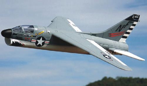 A-7 Corsair EPS Motor/Servos/ Krick 17043