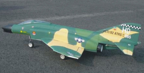 F4N Camouflage EPS ARF Motor/ Krick 17113
