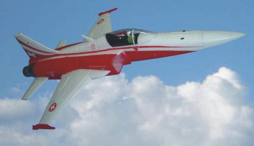 F5E Swiss  EPO ARF mit Motor Krick 17295
