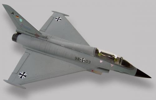 Eurofighter Grau EPS ARF mit Krick 17425