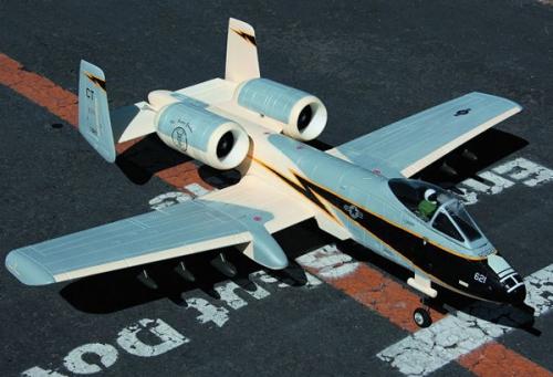 A10 Thunderbold Grau EPO ARF Krick 17445