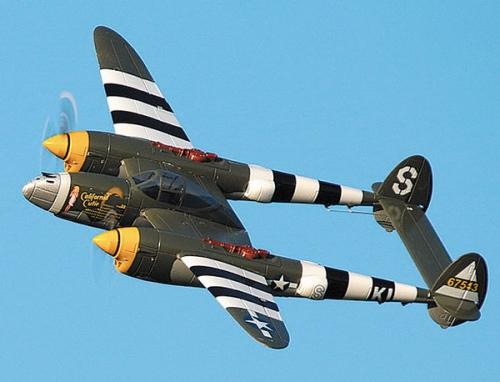 P38 Lightning grün Motoren/Se Krick 17564
