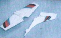 Leitwerksatz  Flugmodell Micro Safari Krick 17995