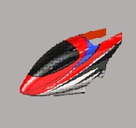 1&10 Kabinenhaube rot Krick 18065