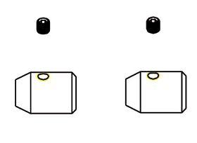 2&13 Gewichte Stabilisierungsstange Krick 18160