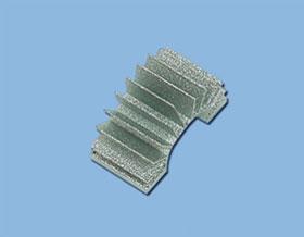 1&21/1V23 Alukühlkörper Heckrotormotor Krick 18318