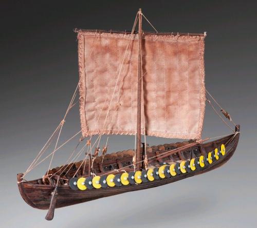 Gokstad  Wikingerschiff 1:72 Baukasten Krick 21217