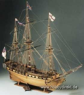 HMS Unicorn Baukasten Krick 21450