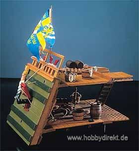 Geschützdeck Wasa Baukasten Krick 21962