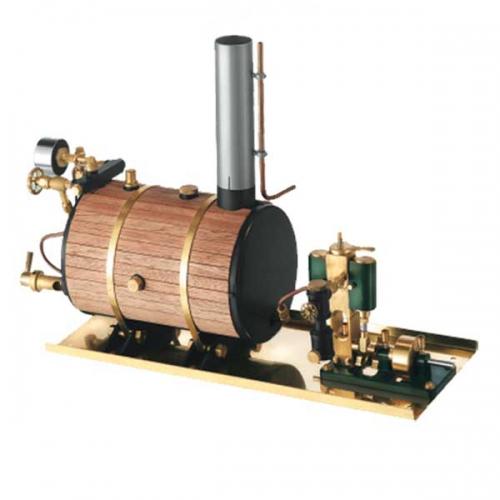 Victor Dampfmaschine liegender Kessel kpl. Krick 22303