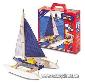 Segelboot Katamaran Bausatz Krick 23553