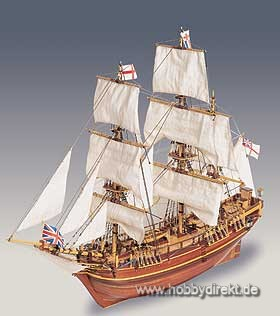 Bounty HMS 1:50 Baukasten Krick 23817
