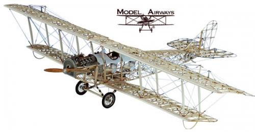 Curtiss JN-4D Jenny 1917 1:16 Standmodell Krick 24010
