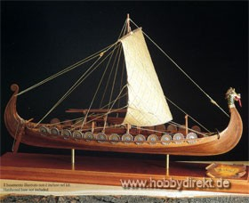Wikingerschiff Oseberg Baukasten Krick 25006